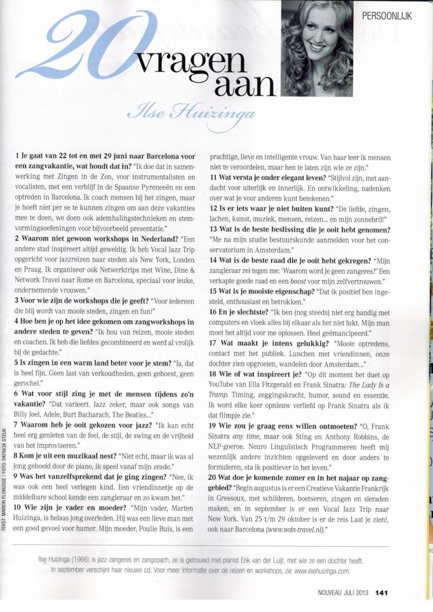 Nouveau juli 2013 20 vragen 2x