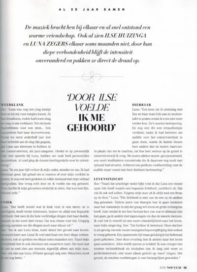 Nouveau Magazine aug 2016 Ilse pag 2 van 2